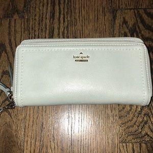 Kate Spade Mint Phone Wallet Wristlet